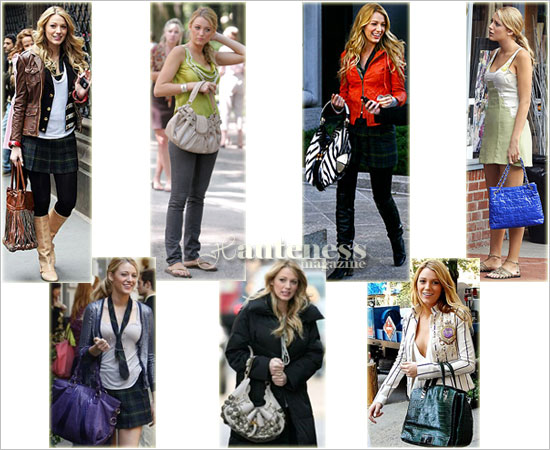 blake lively style in gossip girl. The handbag style of Blake