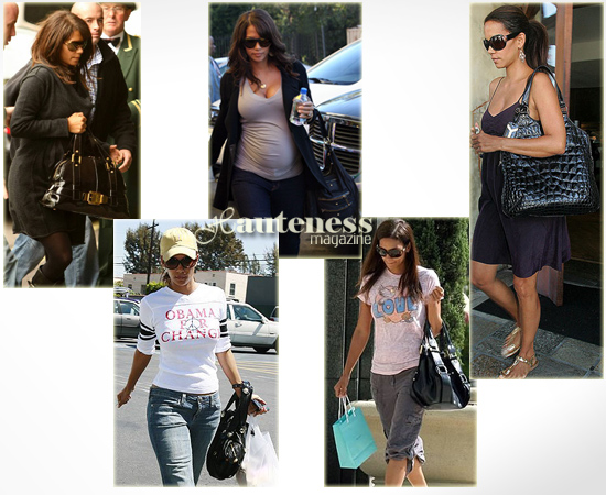 Halle Just Can T Get Enough Of Black Handbags But When You Re As Stunning She Is Who Needs Over The Top Accessories